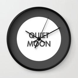 Quiet Moon (Celtic) Wall Clock