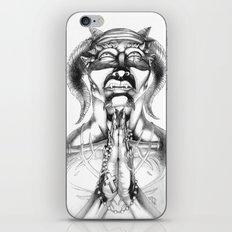 Prayer (Pencil) iPhone & iPod Skin