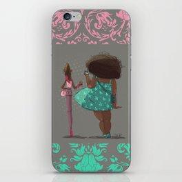 Girls! iPhone Skin