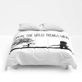 Where the wild things were. Comforters