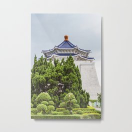 Chiang Kai-shek Memorial Hall Metal Print