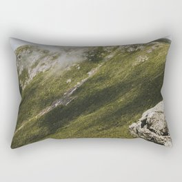 Summer days on the Franconia Ridge Rectangular Pillow
