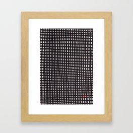 Squarrr 02 Poster Patterns Framed Art Print