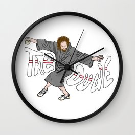 The Dude - The Big Lebowski Wall Clock