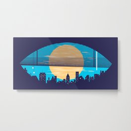 Eye On The City Metal Print