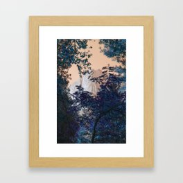 Mountain Peak Framed Art Print