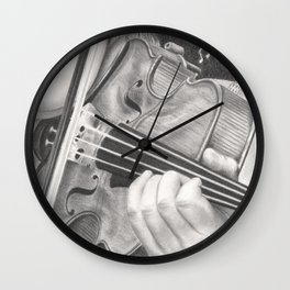 The Note Waltz Wall Clock