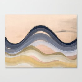 Minimal montains Canvas Print