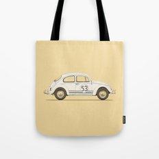 Famous Car #4 - VW Beetle Tote Bag