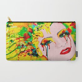 Colorful Sadness  Carry-All Pouch