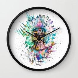 SKULL - WILD SPRIT Wall Clock