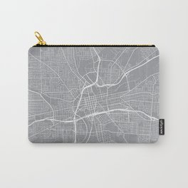 Dayton Map, Ohio USA - Pewter Carry-All Pouch