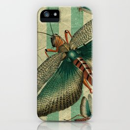 5 Grasshoppers iPhone Case
