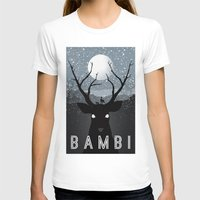 bambi T-shirts featuring Bambi by Rowan Stocks-Moore