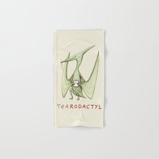 Tearodactyl Hand & Bath Towel