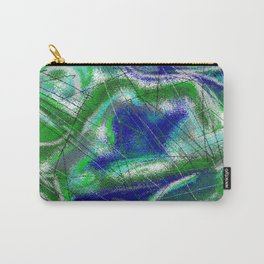New World Matt Texture Abstract VII Carry-All Pouch