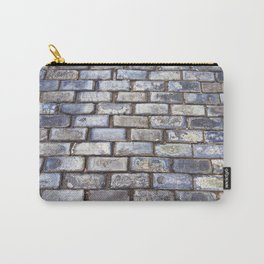 Old San Juan Blue Cobblestone Streets Carry-All Pouch