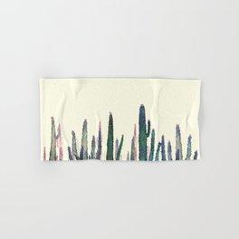 cactus water color Hand & Bath Towel