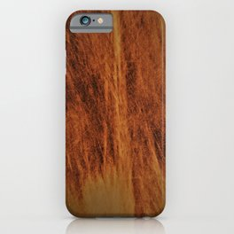 Caramel colour abstract design iPhone Case