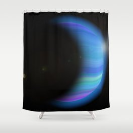 Gaseous Planet Shower Curtain