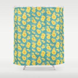 Marigold Disco Shower Curtain