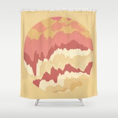 TOPOGRAPHY 009 Shower Curtain