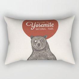 Bear from Yosemite Rectangular Pillow