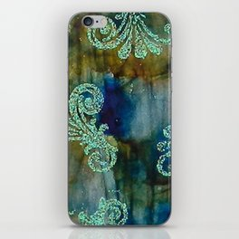 Crystal Fanfare Ink #5 iPhone Skin