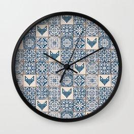 Jardin d'hiver 2 Wall Clock