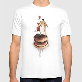 These Burgers Are Crazy II  | Collage T-shirt