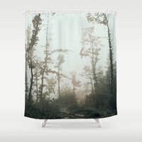fog Shower Curtains featuring Fog by Chiara Datteri