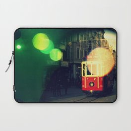 colorful tram in Istanbul Laptop Sleeve