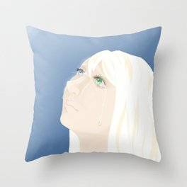 Leave Throw Pillow