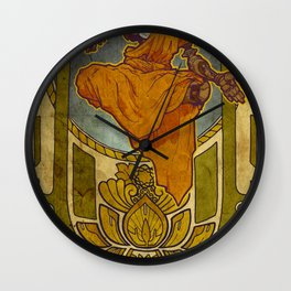 Enlightened Filament Wall Clock