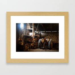 The Tractor Framed Art Print