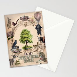 Never Die Stationery Cards