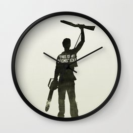 This is my Boomstick! Wall Clock