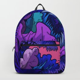 A warm jungle night Backpack