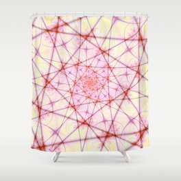 Neural Network Spiral Shower Curtain