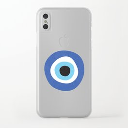 Evi Eye Symbol Clear iPhone Case