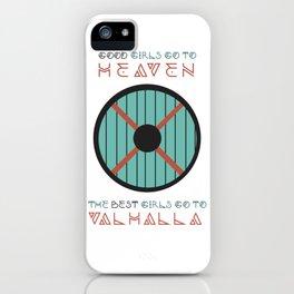 good girls go to heaven iPhone Case