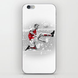 Dennis Bergkamp - Arsenal iPhone Skin