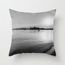 Bodrum Sunset Throw Pillow