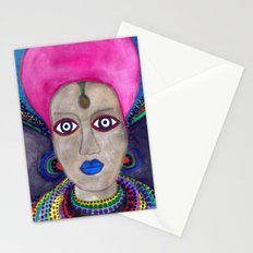 queen etnic pop Stationery Cards