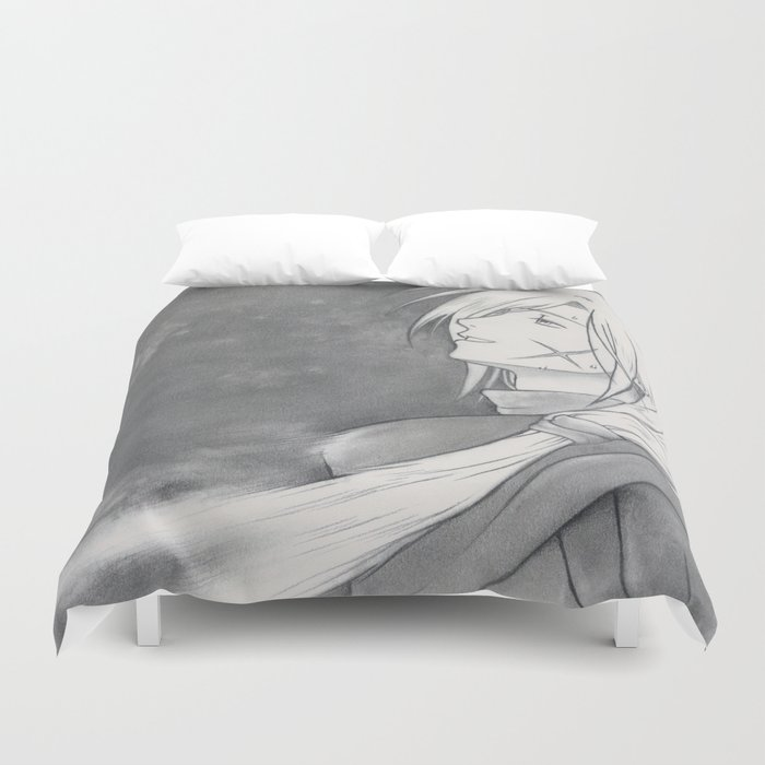 Gremio's Death - Suikoden - Tenei Star [ Only for real NERD ] Duvet Cover