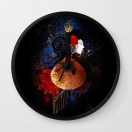 Fado Wall Clock