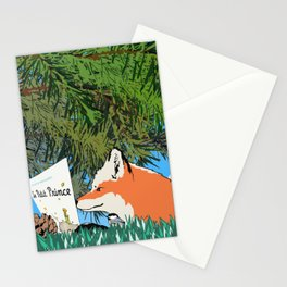 The fox and the Little Prince Stationery Cards