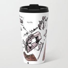 Exploded Gun Travel Mug