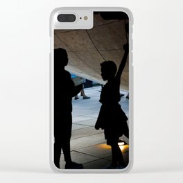 Now Here's Some Honesty Clear iPhone Case
