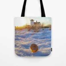 Minot Lighthouse (aka....Lover's Light) Tote Bag